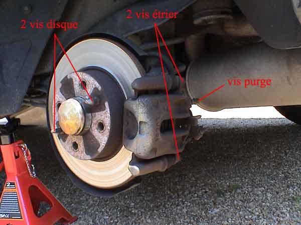 Changer l trier de frein mode d emploi garage sala for Flexible de frein prix garage