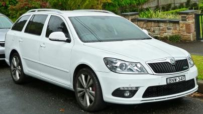 Skoda auto sort une nouvelle voiture, la SKODA OCTAVIA 1Z